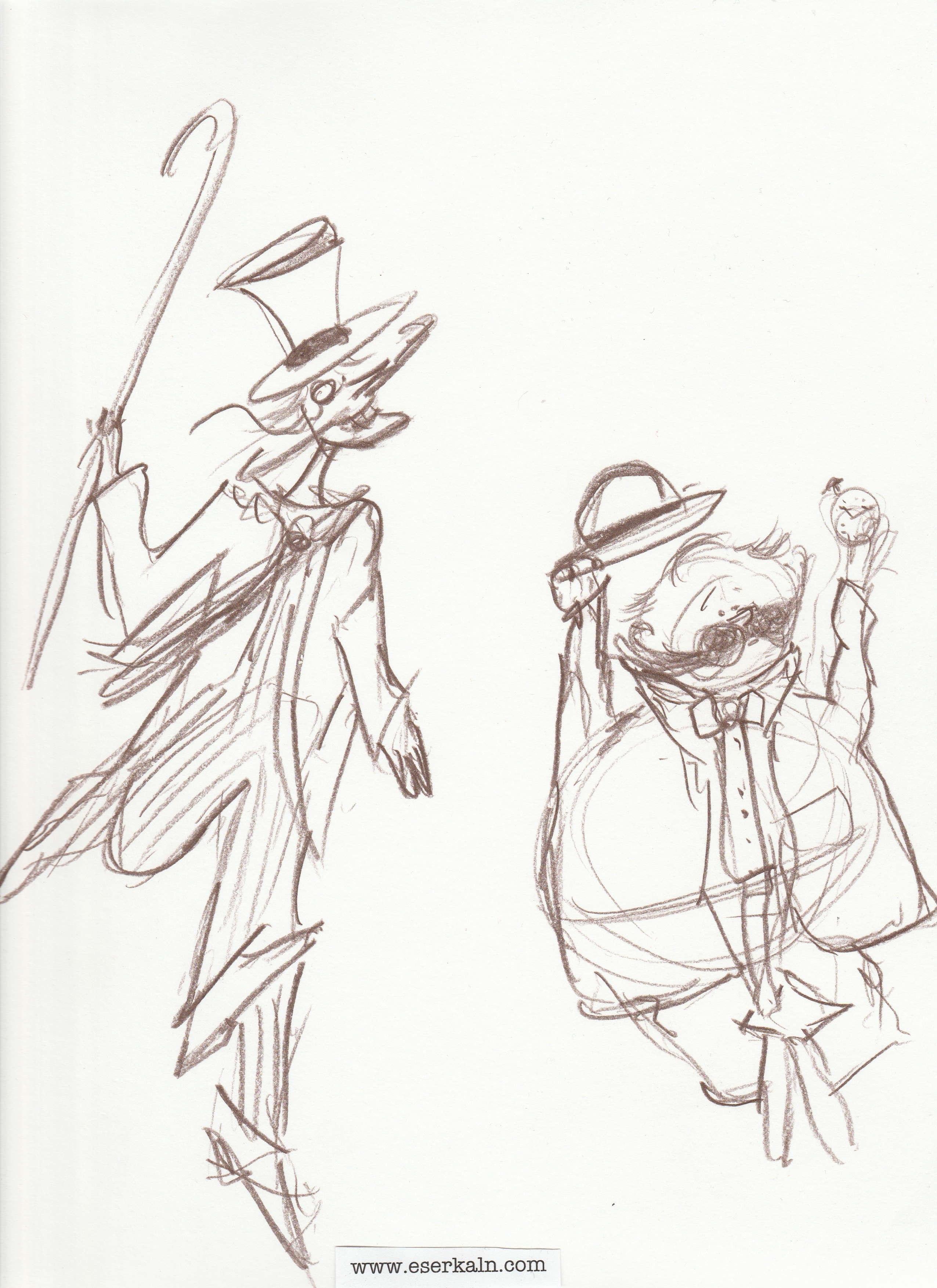 Byron & Bing Sketch