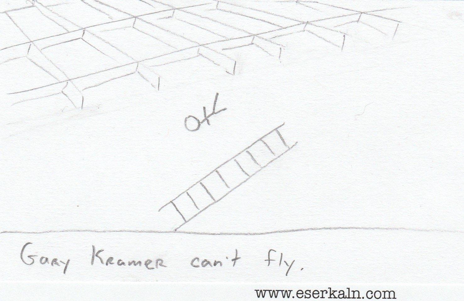 Gary Kramer Can't Fly