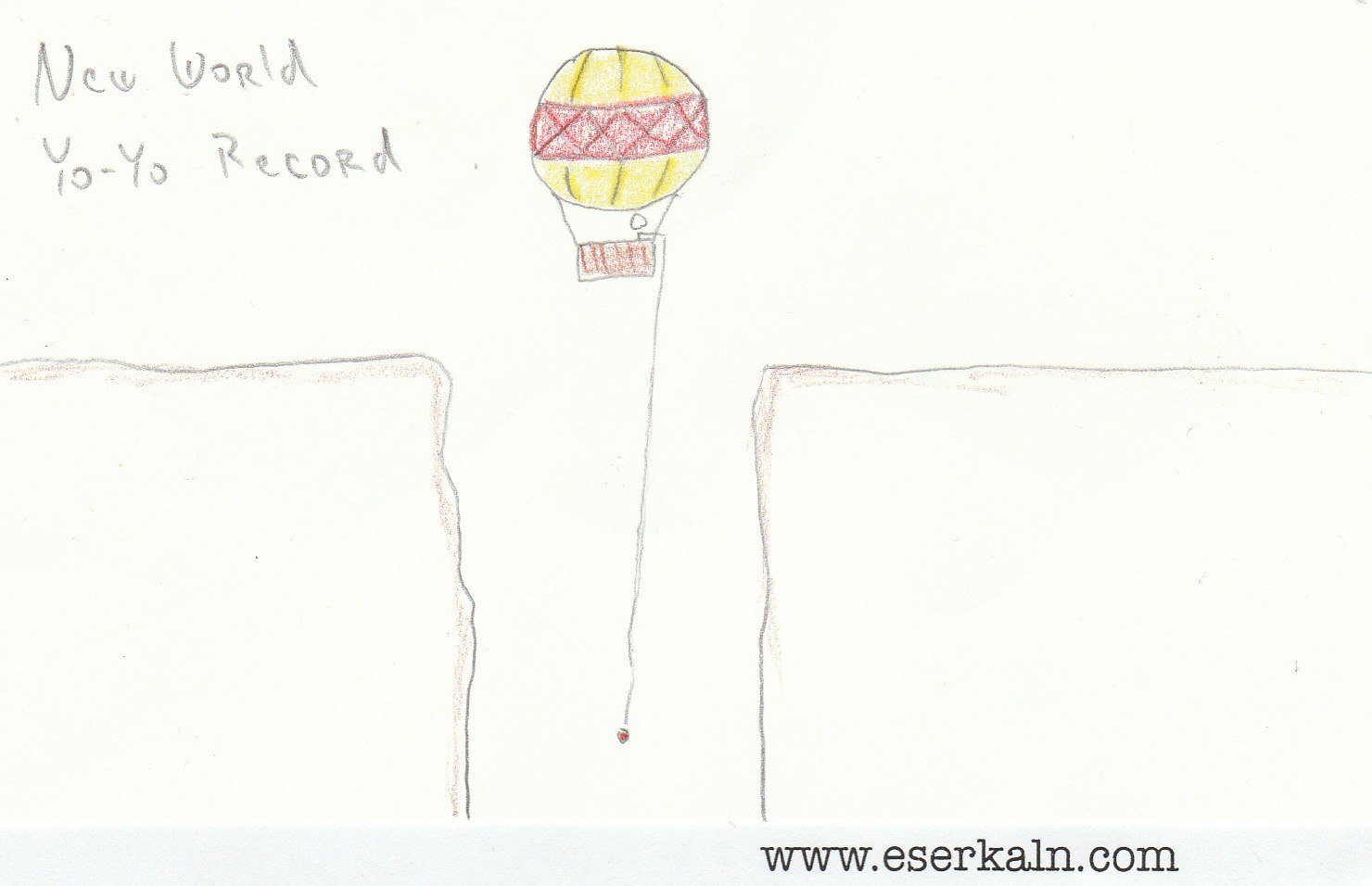 Yo-Yo Cliff Balloon Record